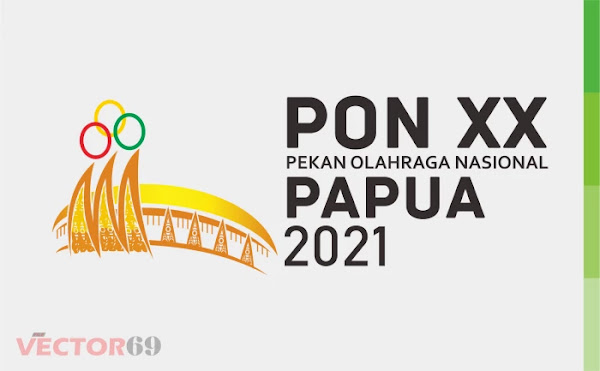 PON (Pekan Olahraga Nasional) XX Papua Tahun 2021 Logo - Download Vector File CDR (CorelDraw)