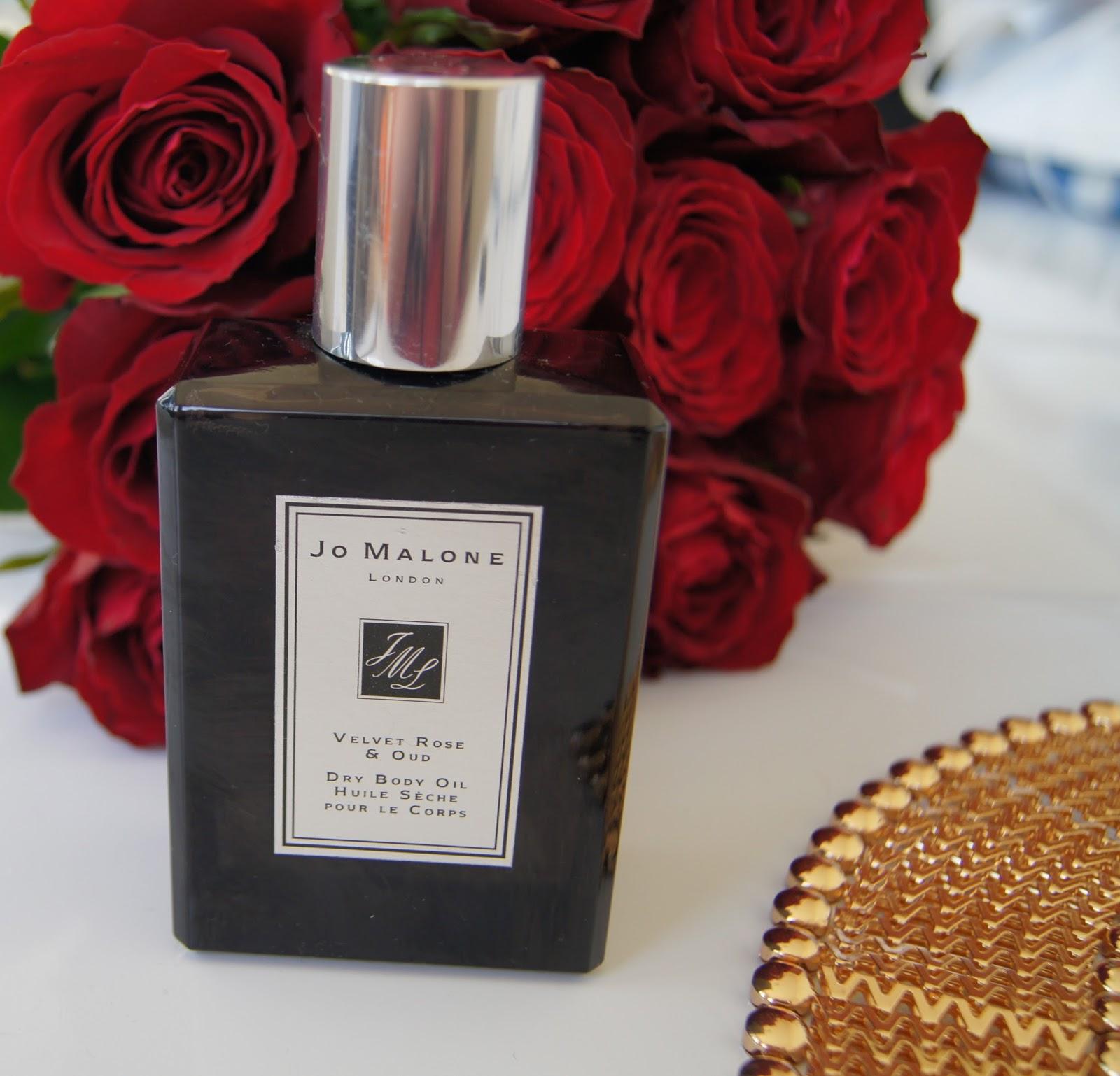 Jo Malone Dry Body Oil Velvet Rose and Oud review