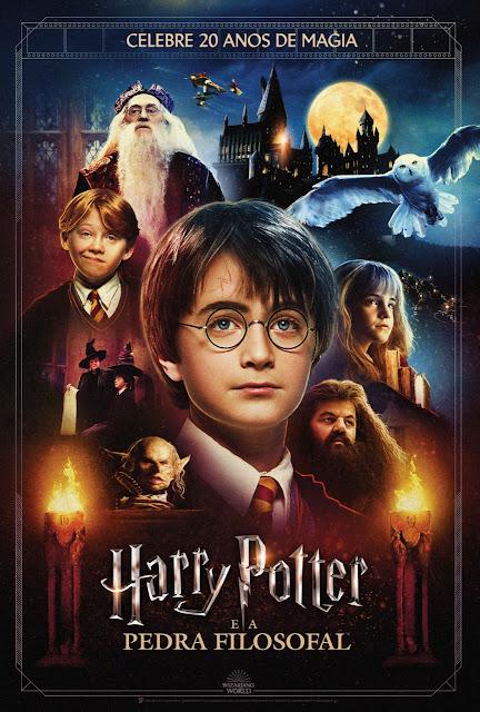 'Harry Potter e a Pedra Filosofal' será relançado no Brasil com Modo Mágico! | Ordem da Fênix Brasileira
