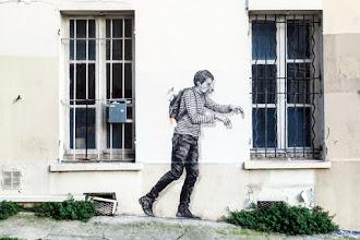 Sunday Street Art : Levalet - cité Jandelle - Paris 19
