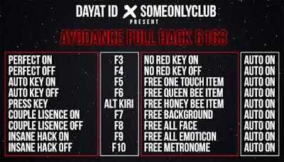Cheat Ayodance Full Hack 6162