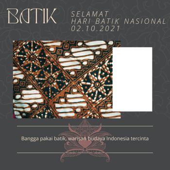 100 Link Twibbonize Hari Batik Nasional 2 Oktober 2021
