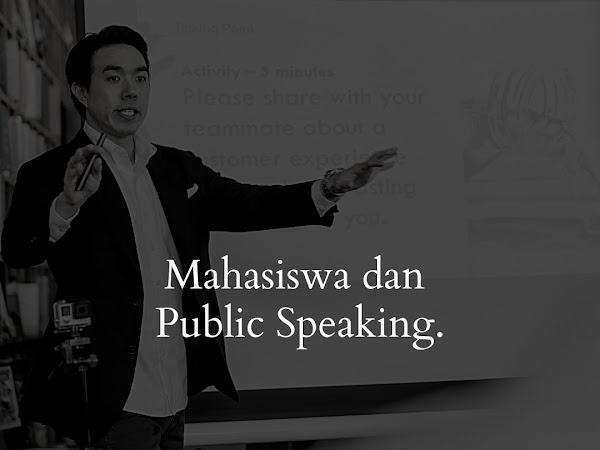 Jangan Ogah- ogahan Belajar Public Speaking