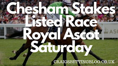 Chesham Stakes 2019