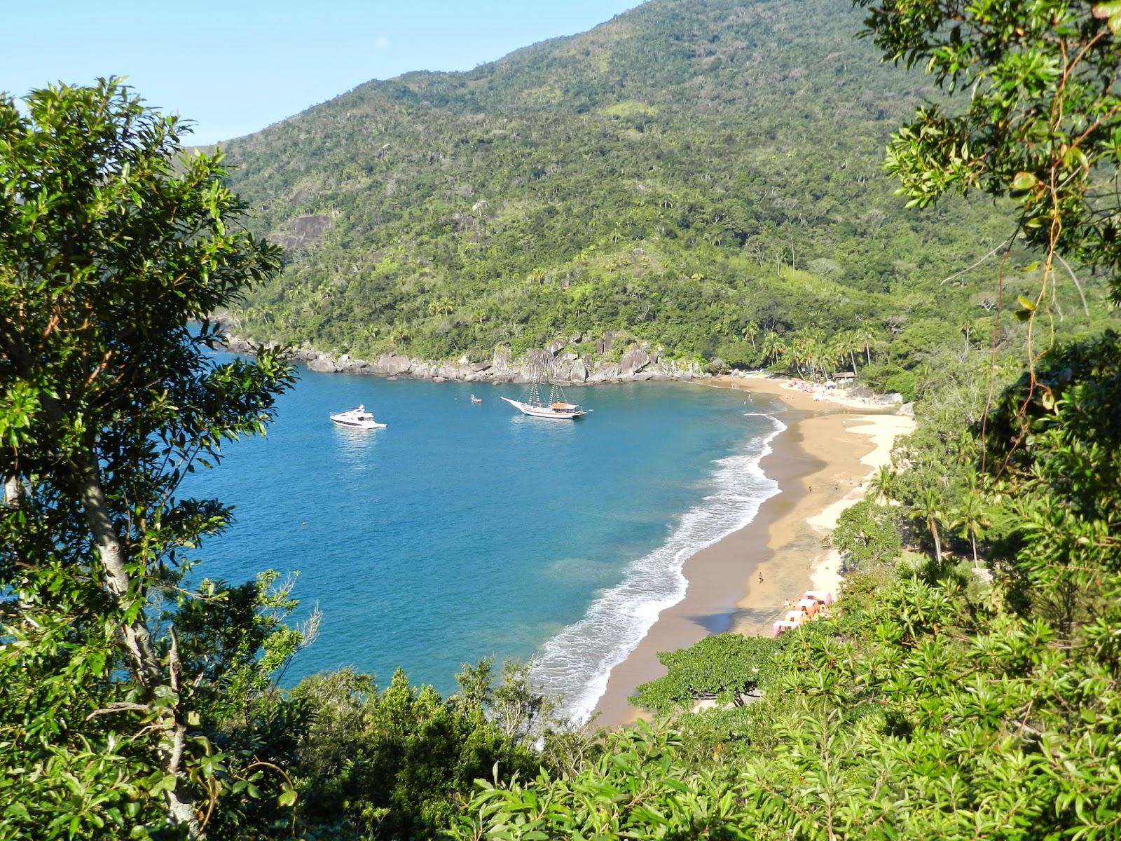 Praia do Jabaquara llha Bela