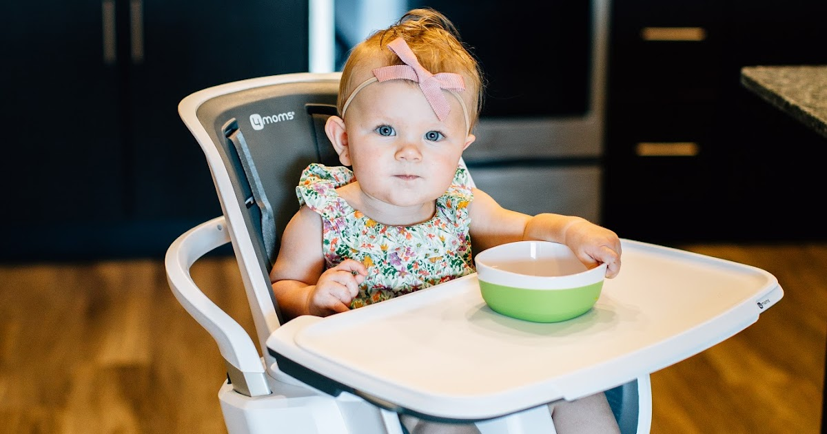 4moms High Chair Splat Mat The Must Have | Red Closet Diary