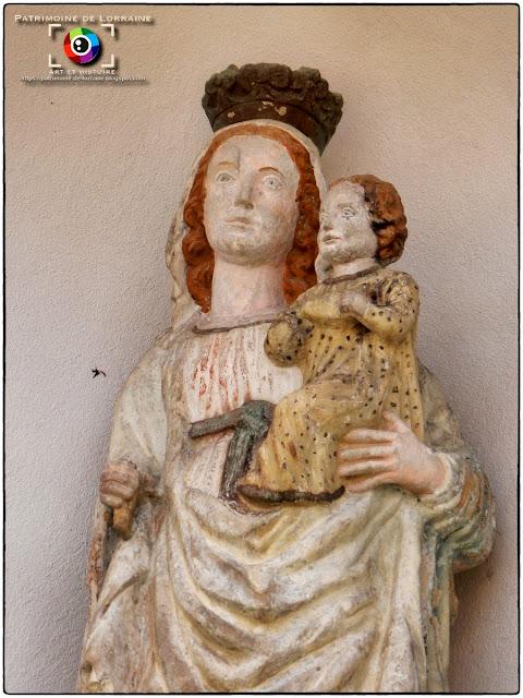 REGNEY (88) - Vierge à l'Enfant (XVIIe siècle)