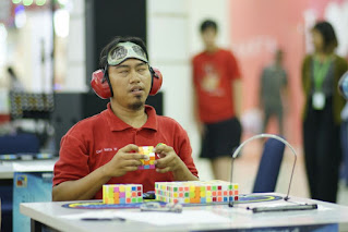 Deri Nata Wijaya multiple blindfolded multi-blind