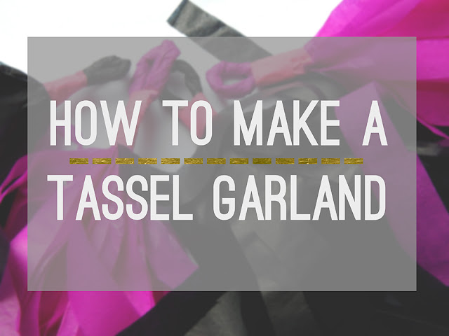 How To Make A Tassel Garland