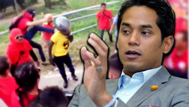 Khairy Kutuk Baju Merah Serang Konvoi Bersih 5