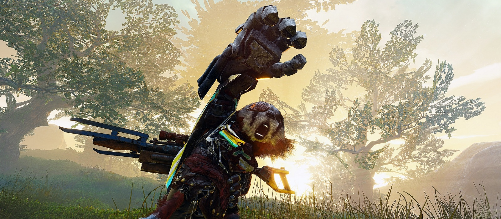 Action game about the fighting raccoon Biomutant will launch on almost all PCs