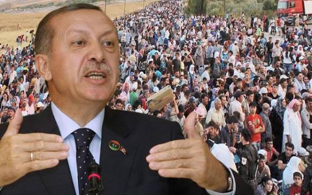 Όπλο στη «φαρέτρα» Ερντογάν το προσφυγικό