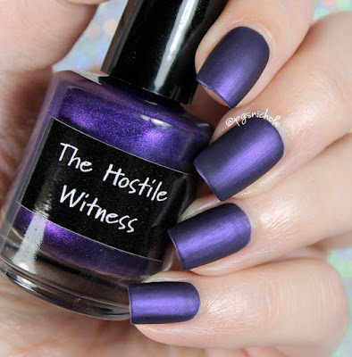 CrowsToes Nail Color The Hostile Witness | The Triple M Collection