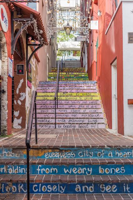 The cutest alleyway in Bermuda!!
