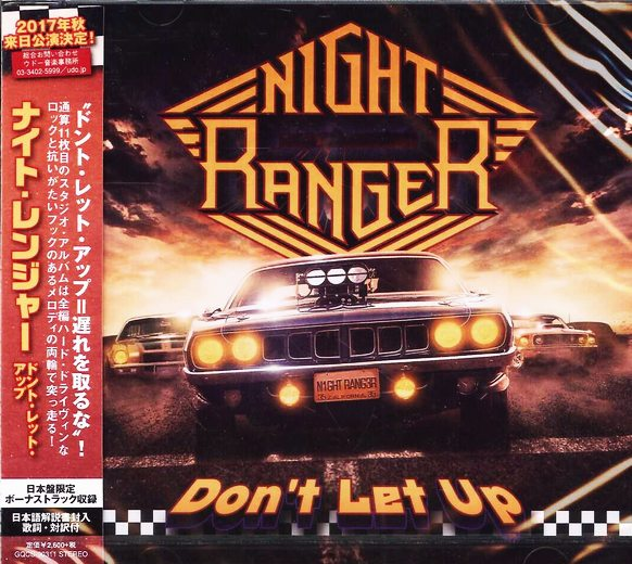 NIGHT RANGER - Don't Let Up [Japanese Edition] (2017) full