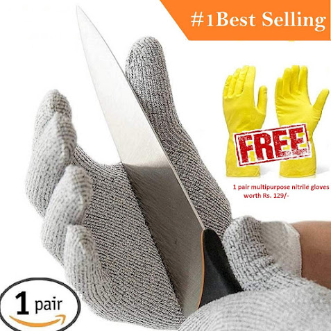 Cut Resistant Hand Safety Gloves