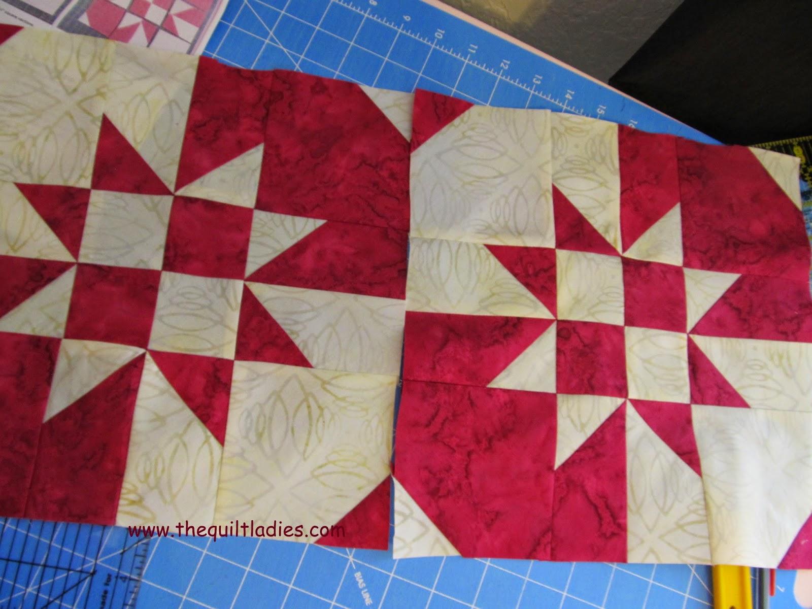 Block quilt magazine pattern