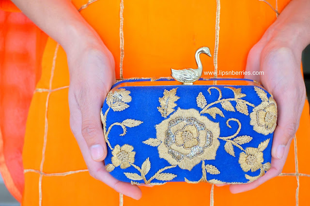 blue ru saru clutch