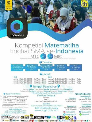 Kompetisi Matematika tingkat SMA se-Indonesia