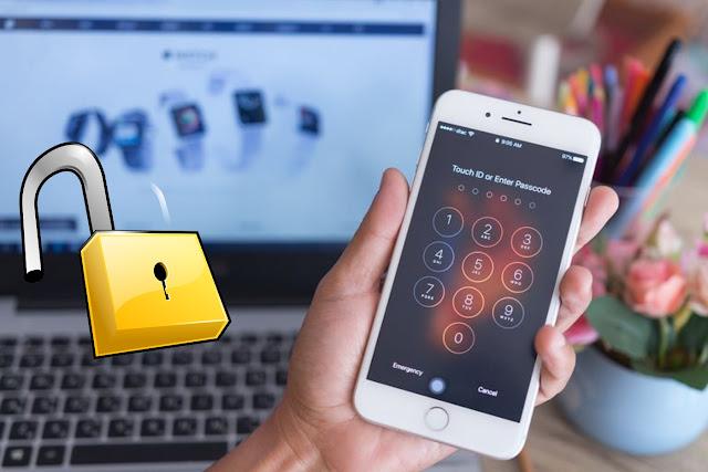 شاهد بالفيديو أختراق هاتف أيفون وتجاوز الكود السري بسهولة