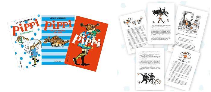 Libro infantil juvenil Pippi calzaslargas Astrid Lindgren