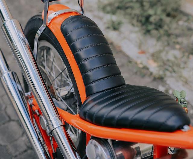 Harley Davidson Shovelhead By Queen Lekha Choppers Hell Kustom