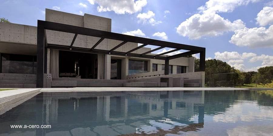 Residencia de concreto en Pozuelo de Alarcón Madrid