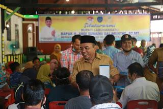 Bupati Andi Jalin Silaturahmi Bersama TKSK dan E- Warung Se- Kabupaten Labuhanbatu