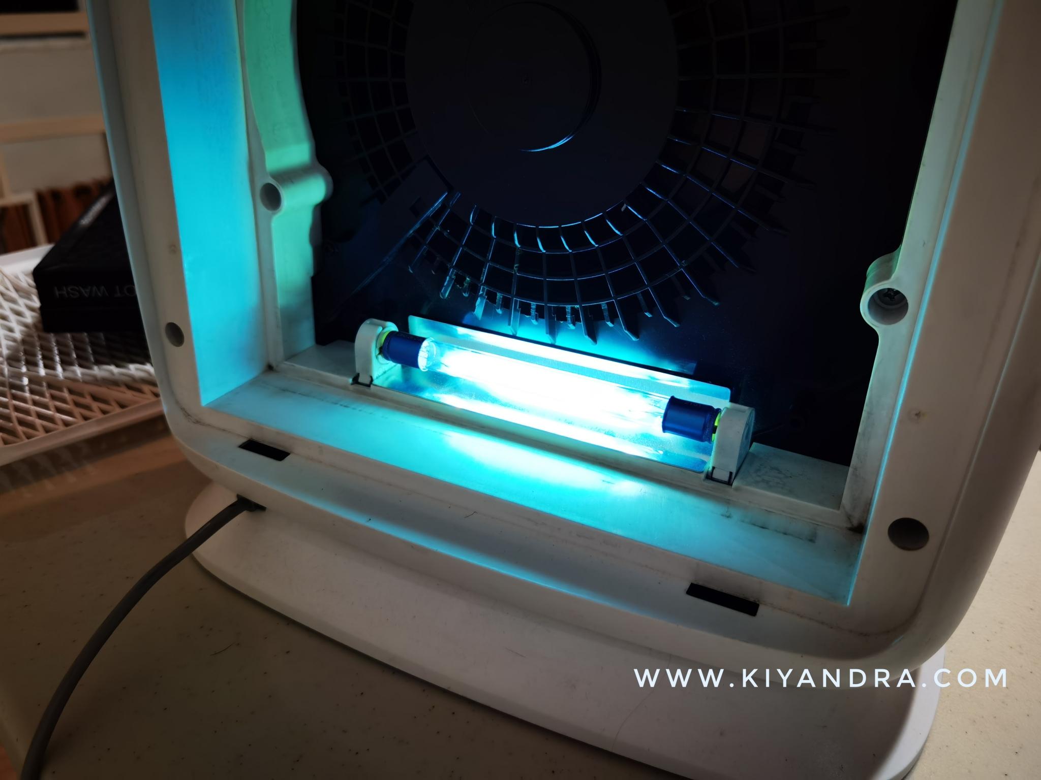 Referensi Air Purifier Dengan UV-C 254nm