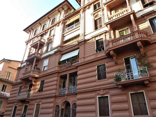 Facciata del Palazzo Campodonico