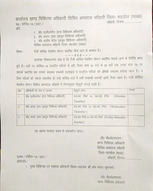 Madhya Pradesh News: अब घर बैठे मिलेगा कोरोना पॉजिटिव मरीजों को उपचार