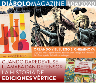 Novedades junio 2020 de Diabolo Ediciones.