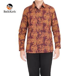 baju batik keris pria terbaru