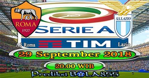 Prediksi Bola855 AS Roma vs Lazio 29 September 2018