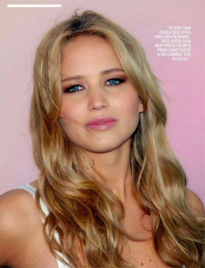 Jennifer Lawrence poses for the cover of Fotogramas Magazine Spain December 2014