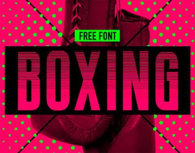 boxing fonte gratis blog design total