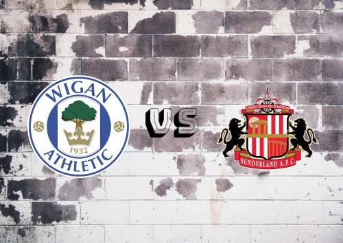 Wigan Athletic vs Sunderland  Resumen