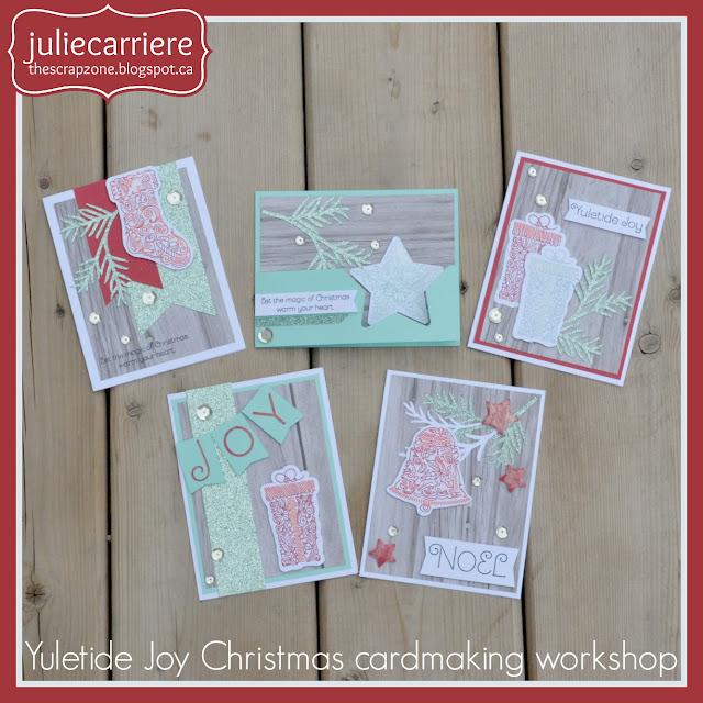 CTMH Yuletide Joy Christmas cards