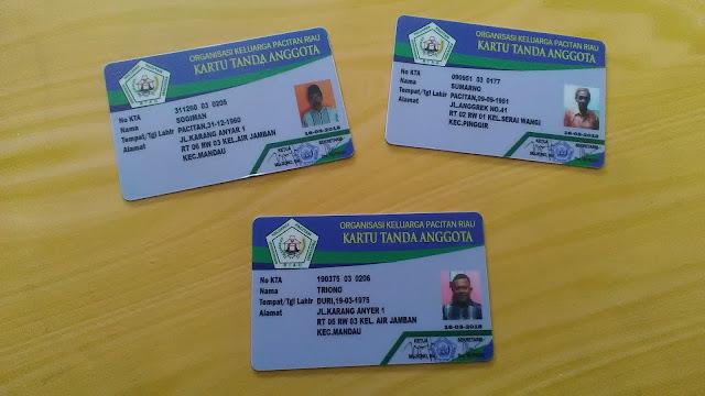 Kartu Tanda Anggota Organisasi