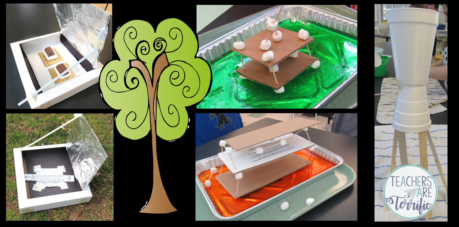 STEM for April and Earth Day- including Solar Ovens, Earthquake Resistant Buildings, and Water Pipelines!