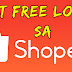 Get FREE Load From Shopee
