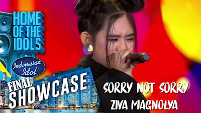 Download Lagu Mp3 Video ZIVA - Sorry Not Sorry [SHOWCASE - Indonesian Idol 2019]