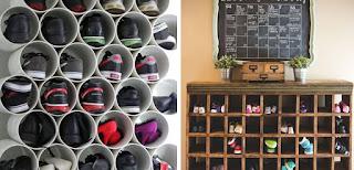 ideas para organizar el calzado en casa