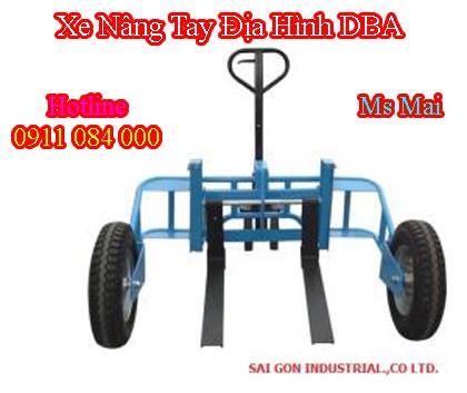 xe nâng tay địa hình DBA-W nhập khẩu _ Lh 0911084000
