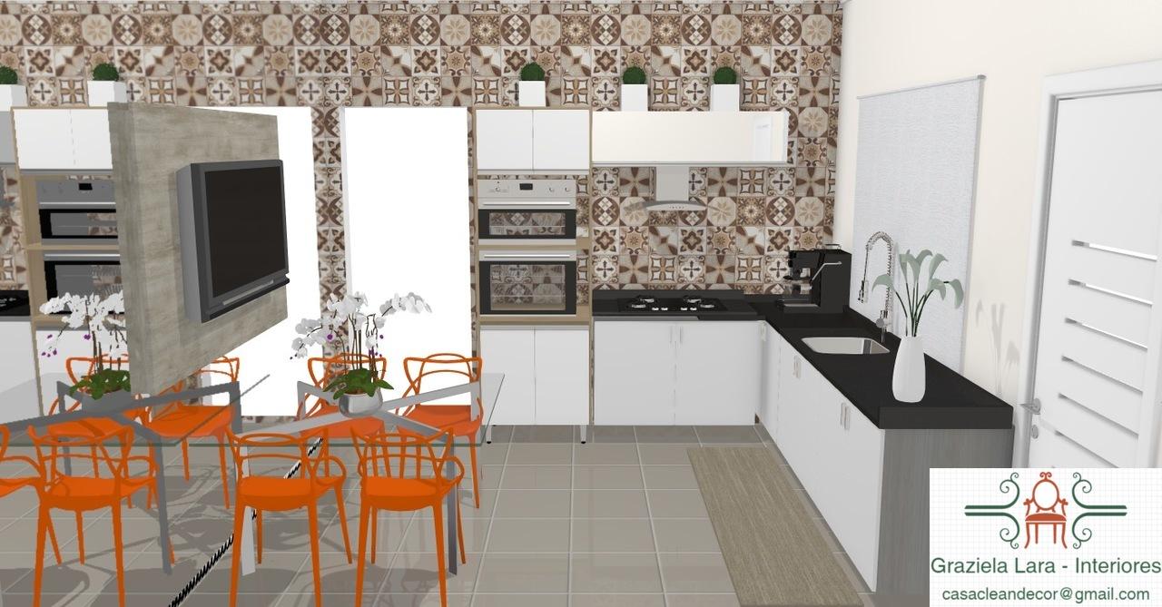 Construindo Minha Casa Clean Consultoria De Decora O 3d Cozinha
