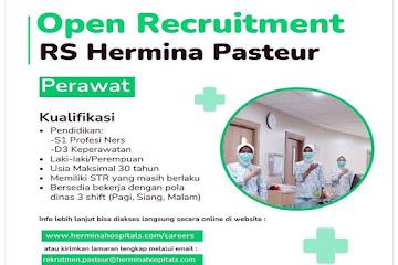 Lowongan Kerja Perawat RS Hermina Pasteur