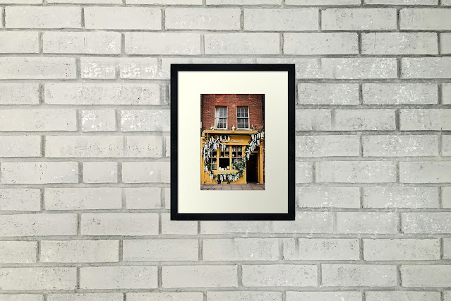Yellow Bakery in Spitalfield Market London