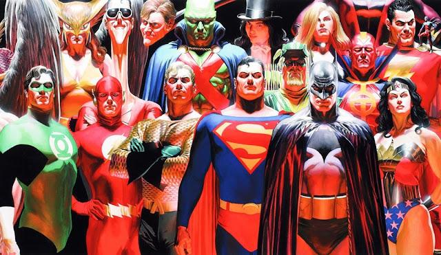 Todos los superhéroes de DC Comics