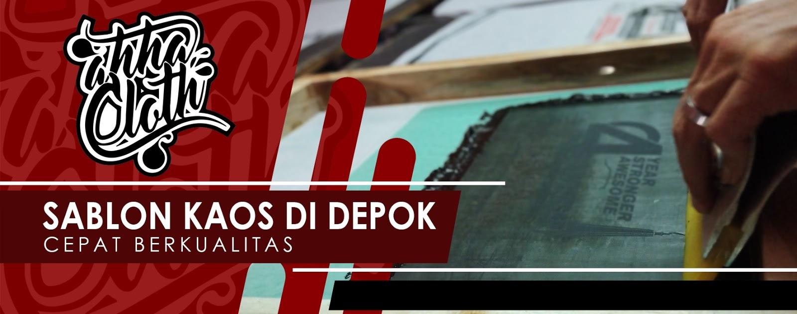 Jasa Sablon Kaos Manual, Murah dan Berkualitas di Depok