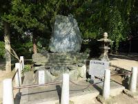 佐太天神宮 与謝蕪村の句碑